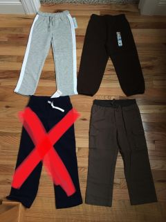 Pants & Sweatpants Lot. Size 5t. All Brand New with Tags.