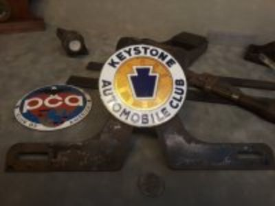 Keystone Automobile Club licences plate topper & more