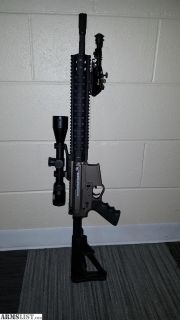 For Sale: Custom Side Charge AR15
