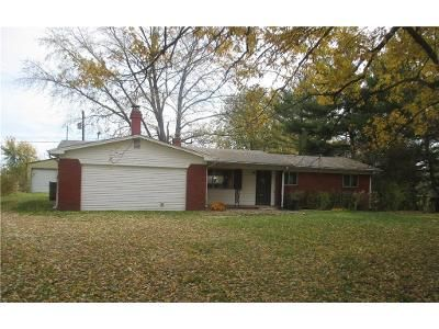 3 Bed 1.5 Bath Foreclosure Property in Brownsburg, IN 46112 - N County Road 800 E