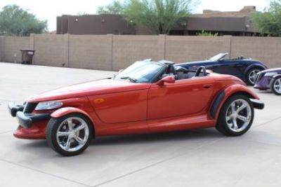 2001 Plymouth Prowler rare orange metallic 10300 m
