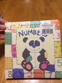 Child learning book