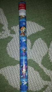 New Disney Mickey Mouse and Friends Gift Wrap