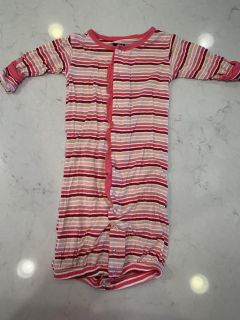Kickee Pants brand gown, size 0-3 months.