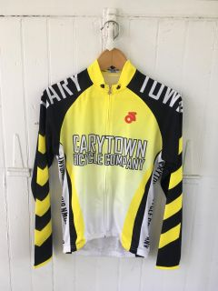 Carytown Bicycle Company long sleeve cycling jersey (medium)