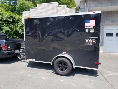 2014 Brendon V Nose Equipment Trailer Trailers Fort Montgomery, NY