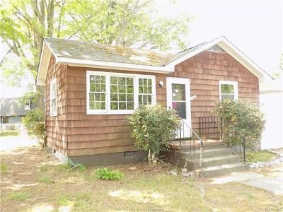 3 Bed 1 Bath Foreclosure Property in Hopewell, VA 23860 - 804b Kenwood Ave