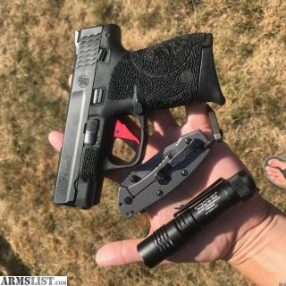 For Sale: Smith and Wesson Shield with Apex Trigger