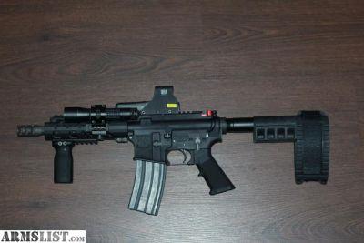 For Sale/Trade: AR-15 7.5 inch barrel