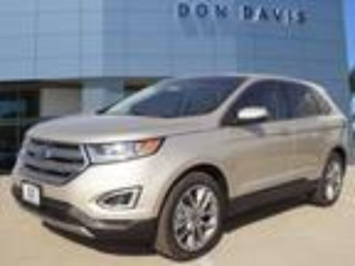 2018 Ford Edge Gold, new
