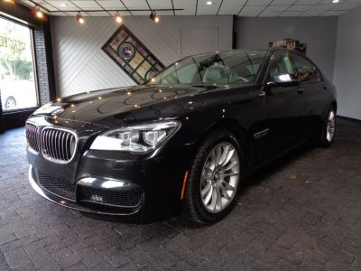 2015 BMW 7-Series 4dr Sdn 750Li xDrive AWD (Carbon Black Metallic)