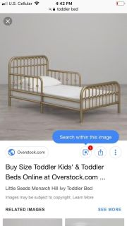ISO a toddler bed