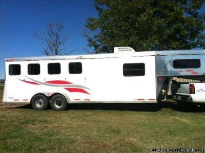 2003 Towlite Towlite 4Horse Trailer With Simple Lq