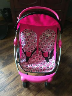 Double Doll Stroller: Graco brand