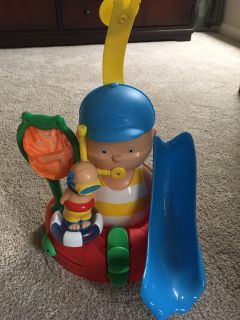 Caillou Bath Time With You Playset - Great Condition