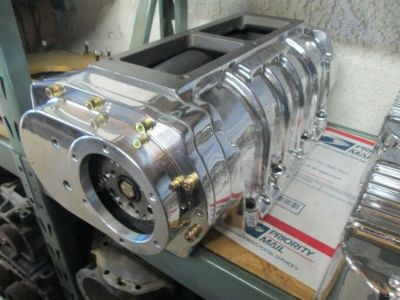 Purchase New NOS Mooneyham Show polished 8-71 street blower Gas hemi 426 392 354 Chevy motorcycle in Riverside, California, United States, for US $2,295.00