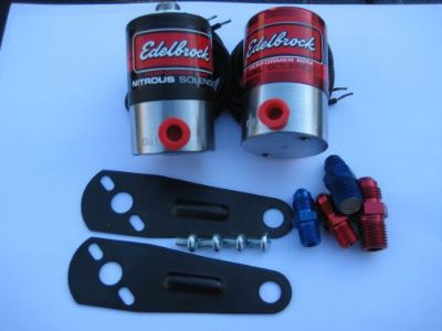 Purchase NOS/NITROUS/NX/ZEX/FORD/CHEVY/DODGE/HOLLEY/EDELBROCK N2O+FUEL SOLENOID KIT 400HP motorcycle in North Attleboro, Massachusetts, United States, for US $157.95