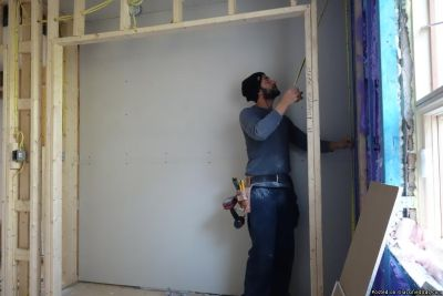 *We do Drywall work and repairs/Finishing/ and Painting