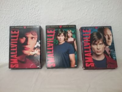 Smallville complete seasons 2, 4, 5