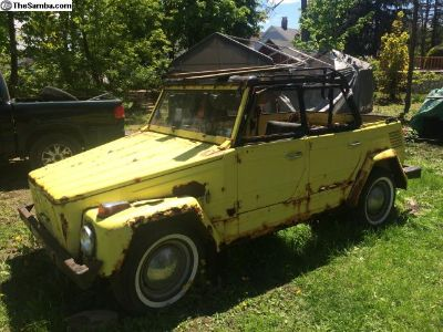 1973 VW Thing Yellow PARTING OUT