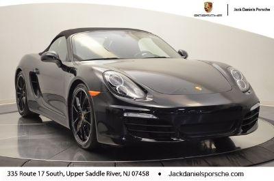 2016 Porsche Boxster Base (Jet Black)
