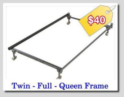 $40, ALL IN ONE BED FRAME- Twin, Full  Queen