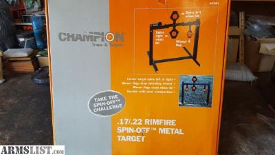 For Sale: Champion 17/22 Spinner Target