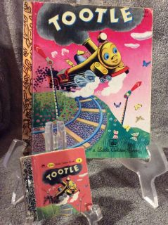 2 - Tootle - Little Golden Books - Bigger one - 1979 - Very Good Condition- no torn or stained pages - Mini - 1991