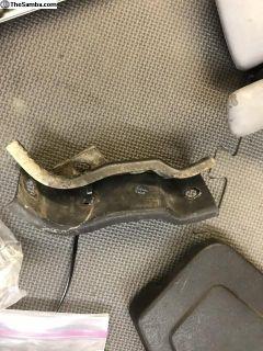 Carat Fiberglas bumper mount brackets