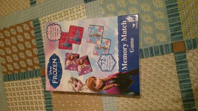 Frozen Memory Match Game 72 cards