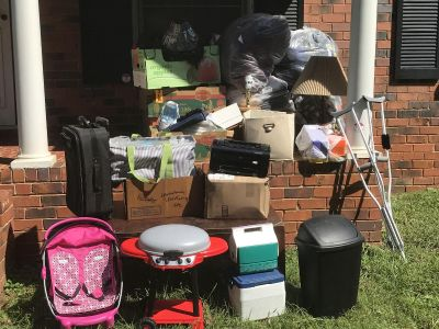 Lot of eBay and yardsale items