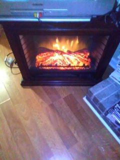 Large Radiant Heater/TV stand