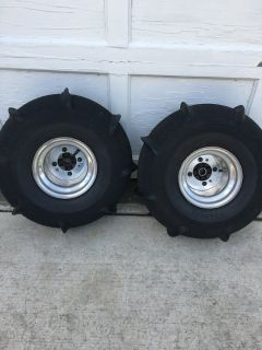 ATV Sand Paddle Tires & Rims