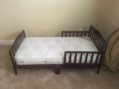 Toddler Bed and frame