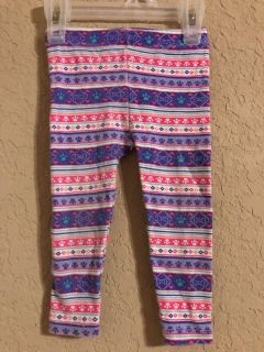 Nickelodeon Adorable Leggings Pants. Nice Condition. Size 12 Months