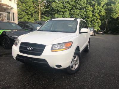 2008 Hyundai Santa Fe GLS (Powder White Pearl)