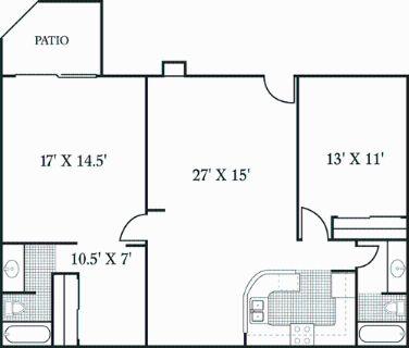 2 bedroom in Solana Beach