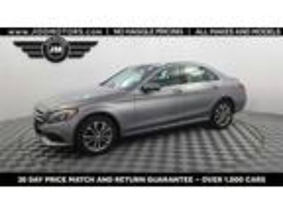 Used 2016 Mercedes-Benz C-Class Silver, 13.7K miles