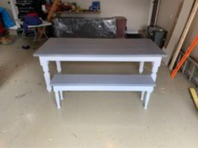 Brand New Farmhouse Style Dining Table