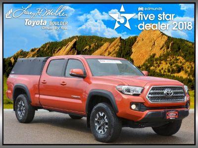 2017 Toyota Tacoma TRD Off Road (Orange)