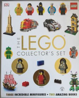 Lego Collector's Set: 2 Book Box Set with Minifigures
