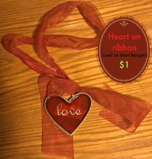 Heart Ribbon decor