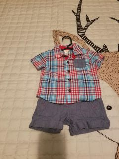 Size 6-9 months baby boy outfit