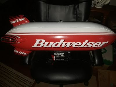 Mint condition inflatable Budweiser Bud blimp