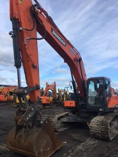 2015 Doosan Construction DX255LC-5