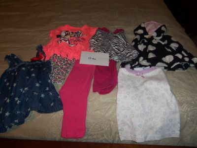 Baby Girl Clothes 12 mo