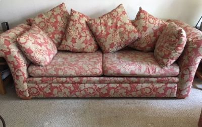 Free, Scatter back sofa and loveseat