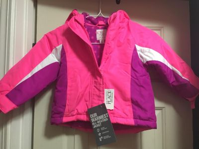 NEW WITH TAGS Children s Place 3-in-1 Winter Jacket Size 2T See all Pics