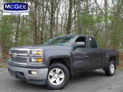 Used 2015 Chevrolet Silverado 1500 4WD Double Cab 143.5