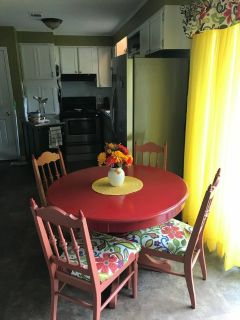 Solid wood table & chairs $115 OBO plus more